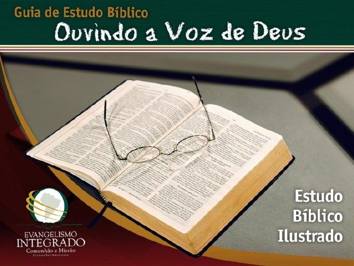 O Plano da Salvação - Ouvindo a Voz de Deus, Estudo Bíblico, Igreja Adventista