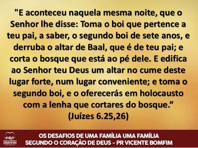 """""""Por isso, retirai-vos do meio deles, separai- vos, diz o Senhor; não toqueis em coisas impuras; e eu vos receberei, serei..."""