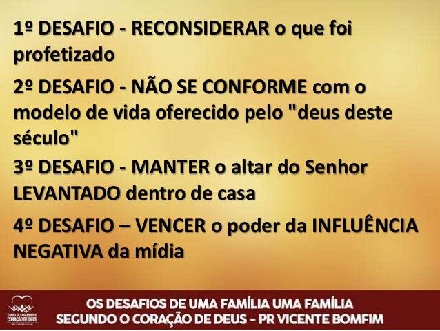 Os Desafios de uma Família Segundo o Coração de Deus