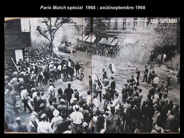 Paris Match  spécial  1968 : ao û t/septembre 1968