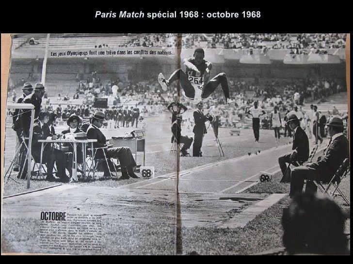 Paris Match  spécial 1968 : octobre 1968