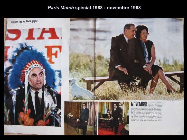 Paris Match  spécial 1968 : novembre 1968