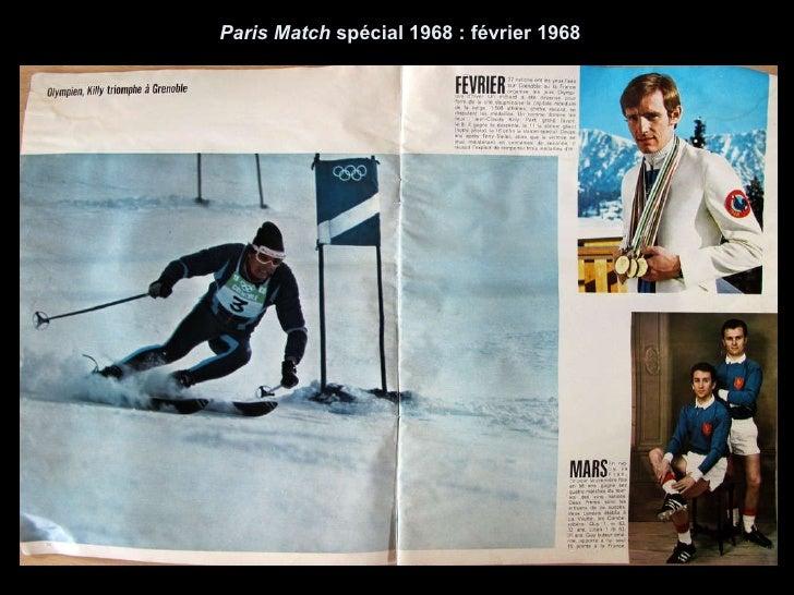 Paris Match  spécial 1968 : février 1968
