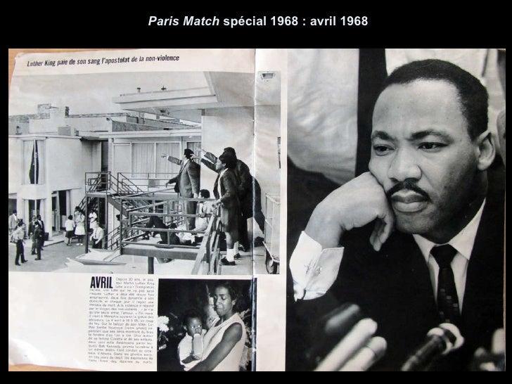Paris Match  spécial 1968 : avril 1968