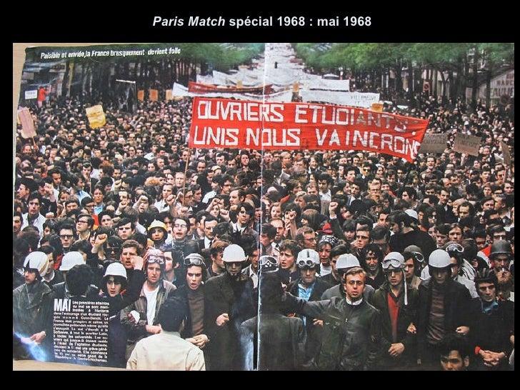 Paris Match  spécial 1968 : mai 1968