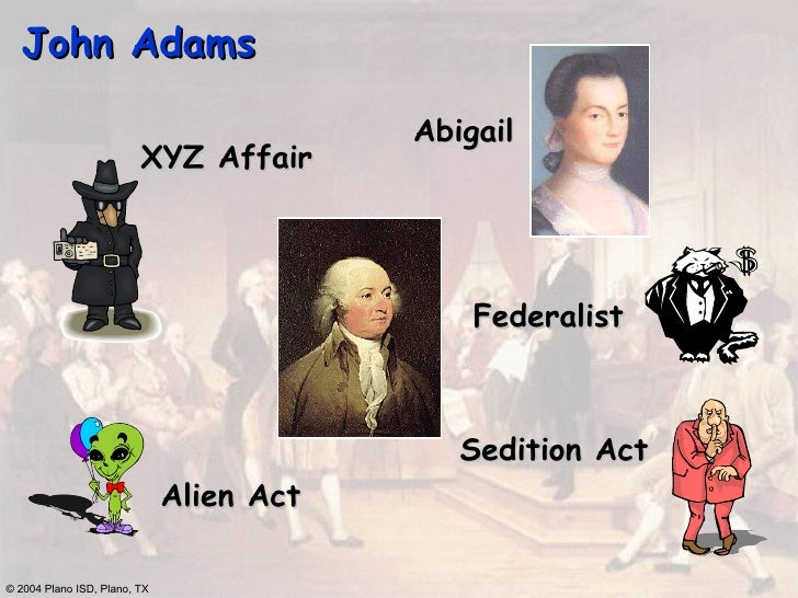 evaluating the original objectives of the alien and sedition acts in america The alien and sedition acts of 1798 increased the requirements for citizenship and made unlawful opposition to federal law, insurrection, certain assemblies, and libel against the government.