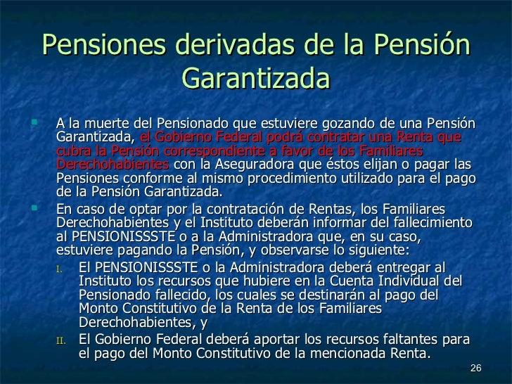 04 seguro de retiro cesant a en edad avanzada y vejez - Se cobra la pension el mes de fallecimiento ...