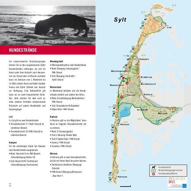 hundestrand sylt karte Hundestrand Sylt Karte | jooptimmer hundestrand sylt karte