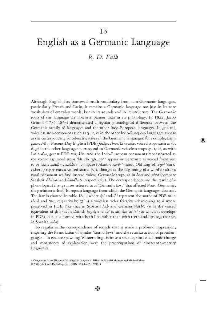 As english language transcript