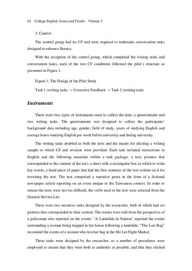 three study boxes written corrective feedback essay Although 38 per cent of the total written comments comprise praise, these positive comments constitute only 33 per cent of the total written feedback thus, the predominant focus of teacher feedback is on students' weaknesses pertaining to language form.