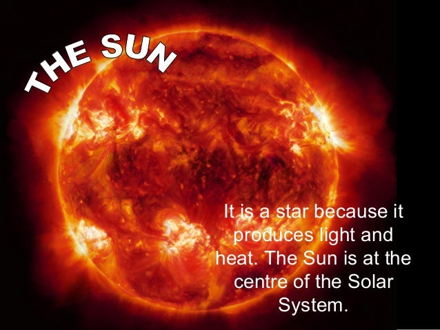 Celestial bodies in the Solar System: the Sun, planets, satellites, comets, asteroids and meteorids. Slide 3
