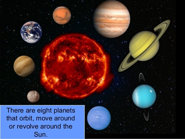 what causes the planets and moons in our solar system to orbit the sun - photo #24