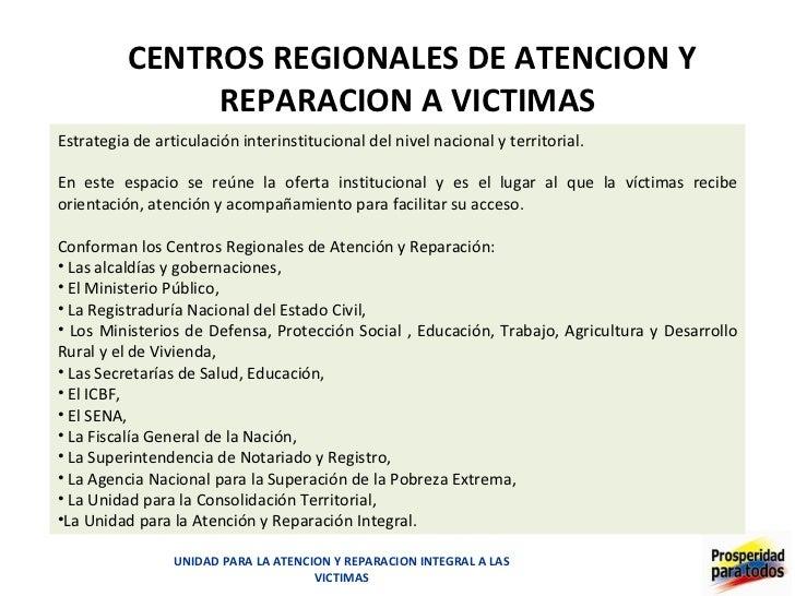 Unidad para la Atención y Reparación Integral a las Víctimas - photo#32