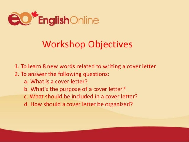 Tips For Writing A Cover Letter; 3.  The Cover Letter