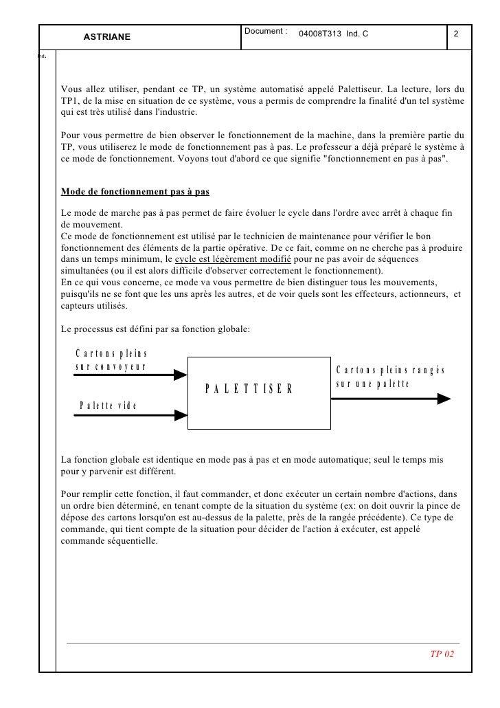 Document :     04008T313 Ind. C                                2             ASTRIANE   . Ind           Vous allez utilise...