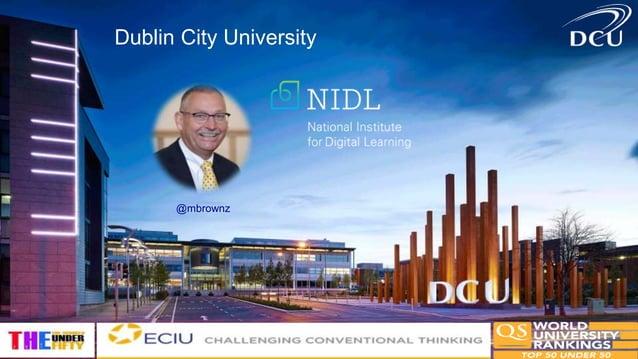 Dublin City University @mbrownz