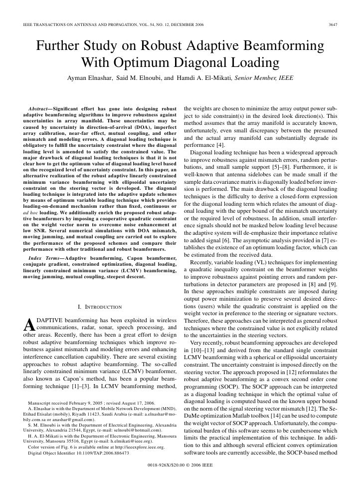 IEEE TRANSACTIONS ON ANTENNAS AND PROPAGATION, VOL. 54, NO. 12, DECEMBER 2006                                             ...