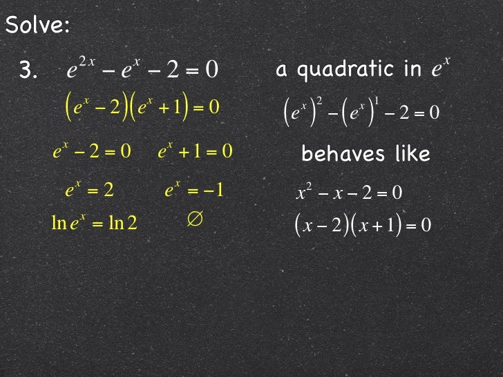 Holt McDougal Algebra The Natural Base, e 4-6 The Natural Base, e ...