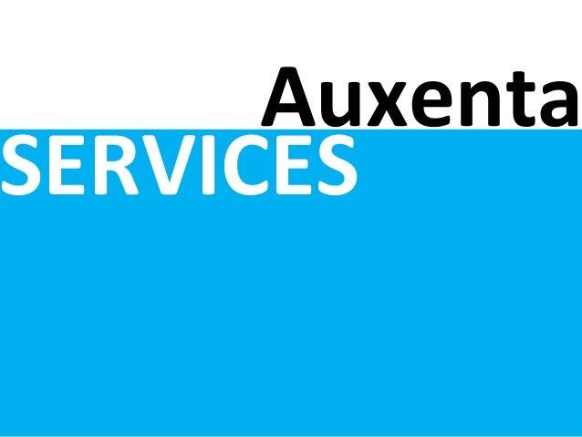 Auxenta SERVICES