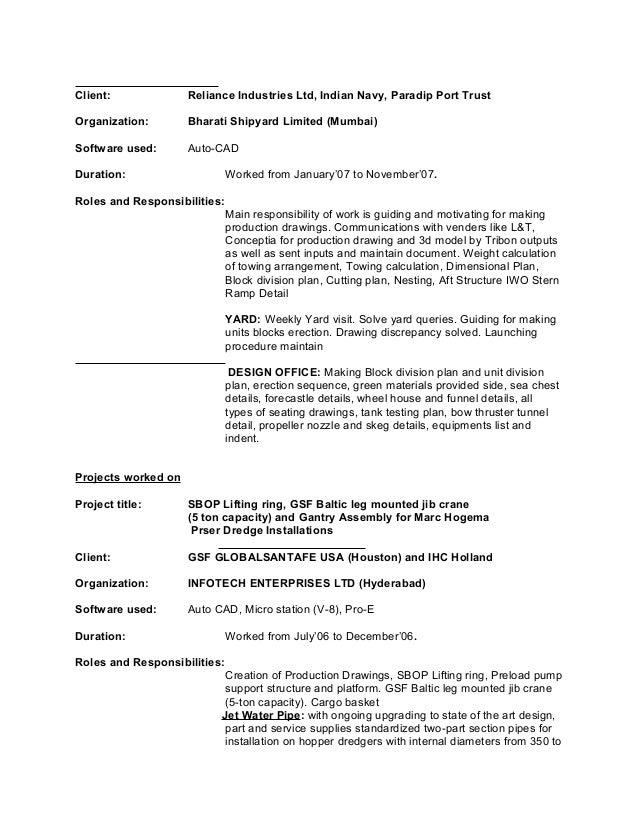 resume swapan sarkar