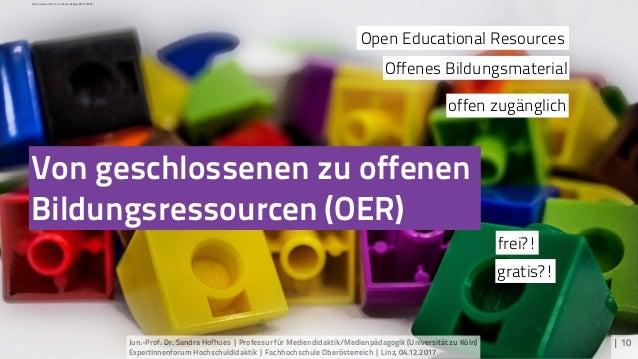 Von geschlossenen zu offenen Bildungsressourcen (OER) | 10 Offenes Bildungsmaterial Open Educational Resources gratis?! fr...