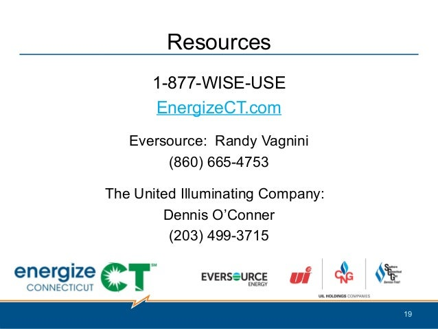 Energize Ct Energy Efficiency Program For The Connecticut