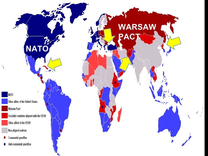Communism Vs Democracy Map