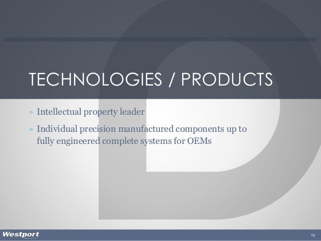 TECHNOLOGIES / PRODUCTS » Intellectual property leader » Individual precision manufactured components up to fully engineer...