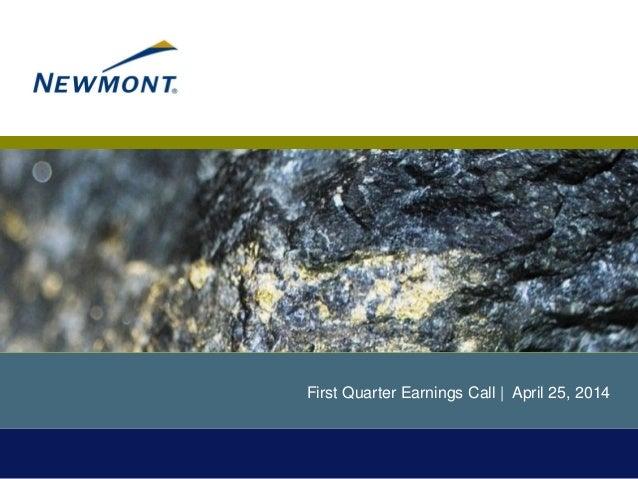 04 25 2014 q1 earnings presentation final