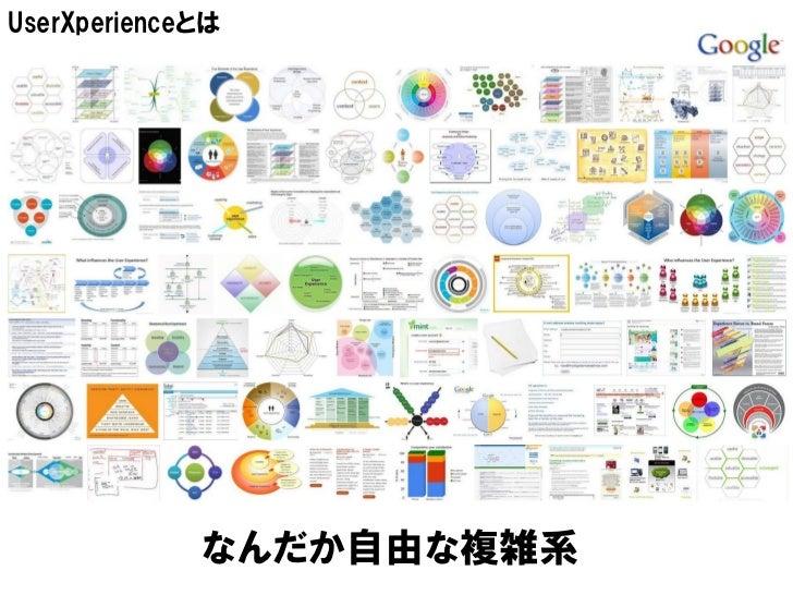 UserXperienceとは             なんだか自由な複雑系