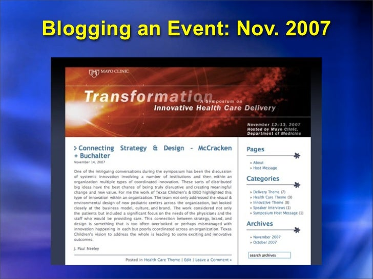 Transforming YouTube Channel• Started with Medical Edge TV foundation• Coca-Cola Conversation @ Blog Council