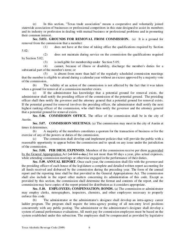 042910 Tabc Laws