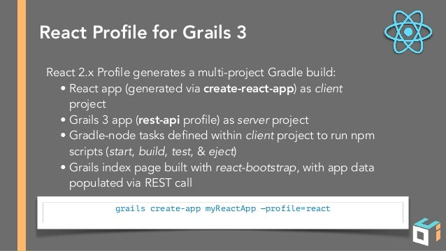 Using React with Grails 3