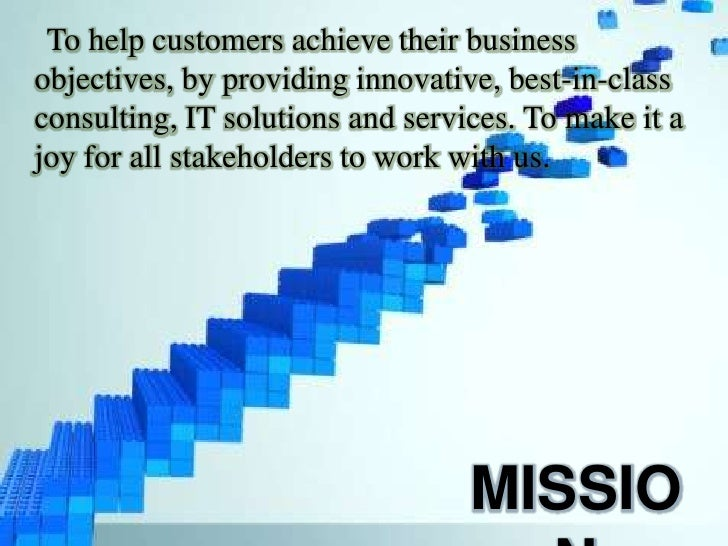 tata consultancy services mission and vision statement