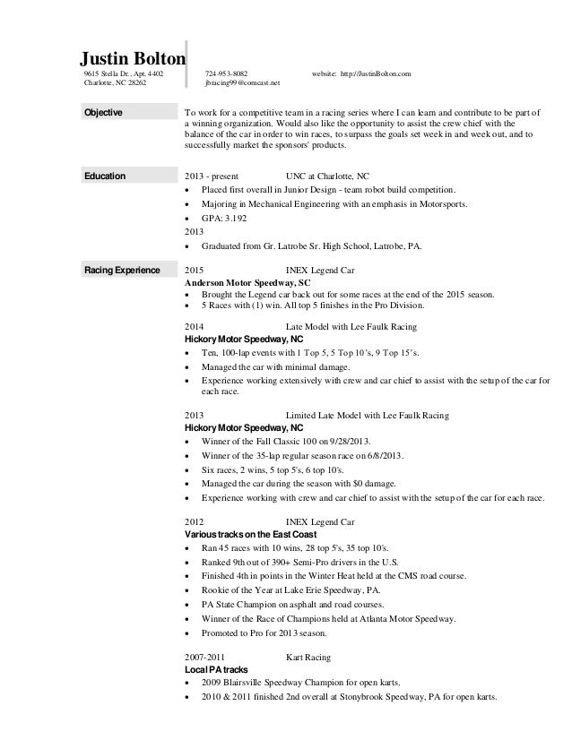 Famous Race Engineering Resume Sketch - Administrative Officer Cover ...