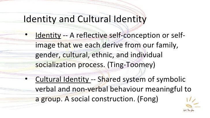 "a paper on ethnicity and identity Ethnic identity is constructed and modified as individuals become aware of their ethnicity, with in the large (sociocultural) setting"" (2003, p 63) phinney (1990, 2000) views subjective identity as a starting point that eventually leads to the development of a social identity based on ethnic group membership."