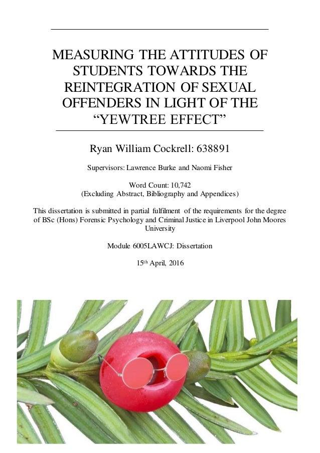 Sexual predators documentary hypothesis