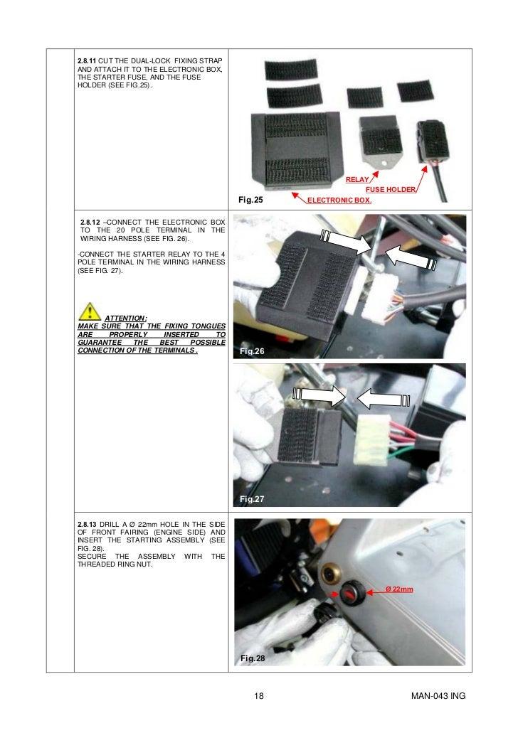 Manual Go-kart Parilla Engine X30.eng on
