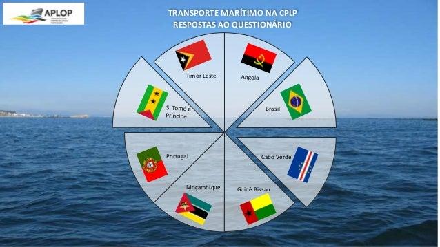 Brasil Portugal Cabo Verde Timor Leste Moçambique Guiné Bissau RESPOSTAS AO QUESTIONÁRIO TRANSPORTE MARÍTIMO NA CPLP