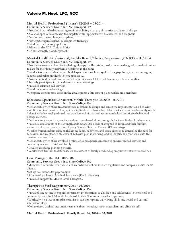 Mental Health Professional Resume Template   Premium Resume     Resume Genius     Resume Sample For General Labor Httptopresumeinforesume Resumes Mental  Health Worker Job Objective Mental Health Social Work