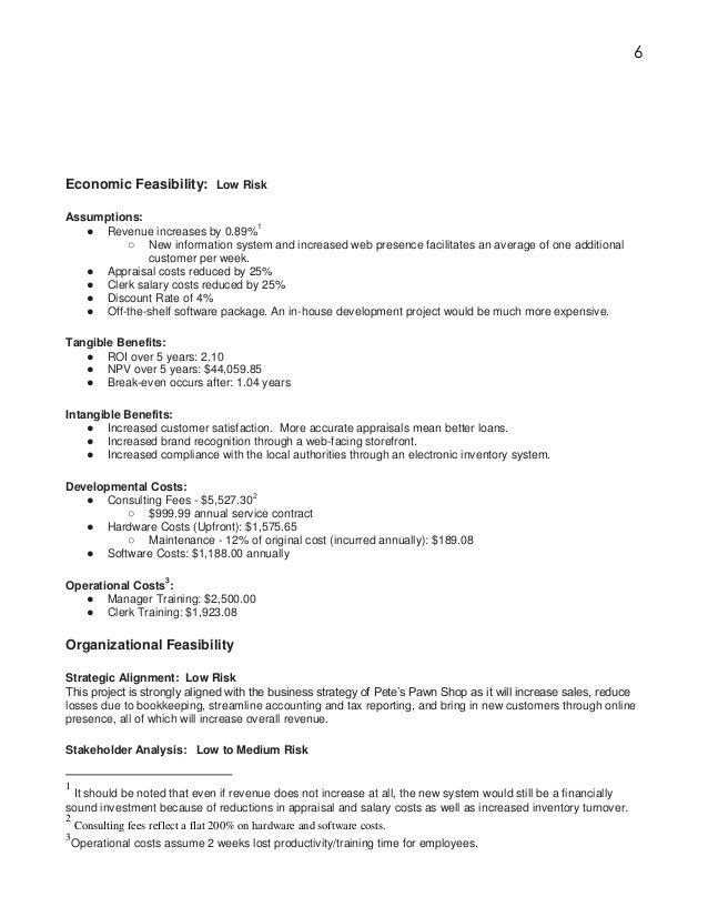 6 bookkeeping proposal