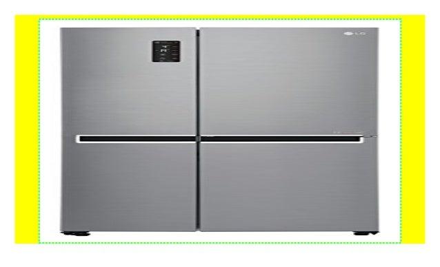 LG Electronics GSB 760 PZXZ Side By Side Kühlschrank/A++ / 179 Cm / 395  KWh/Jahr / 406 L Kühlteil / 220 Gefrierteil/Total No Frost/steel