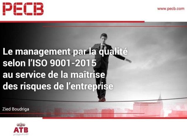 Zied BOUDRIGA Zied Boudriga est: Directeur des risques opérationnels et Marchés au sein de l'Arab Tunisian Bank, formateur...