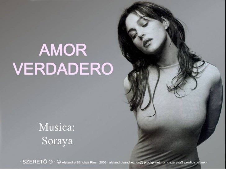 Musica: Soraya