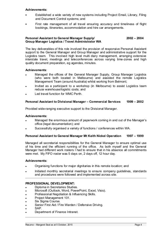 20151005 updated resume volunteer and or part time work