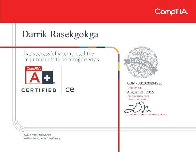 CompTIA A+ ce certificate[1]