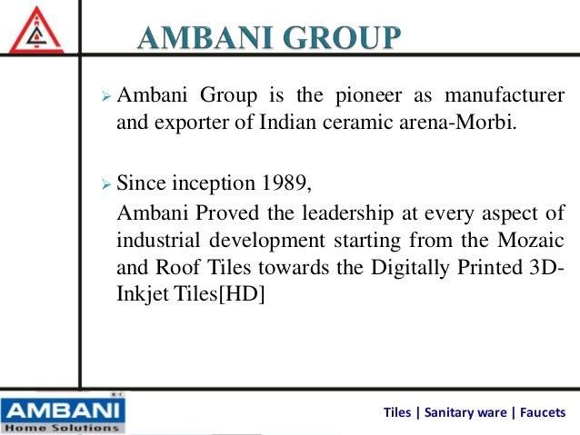 Ambani Presentation