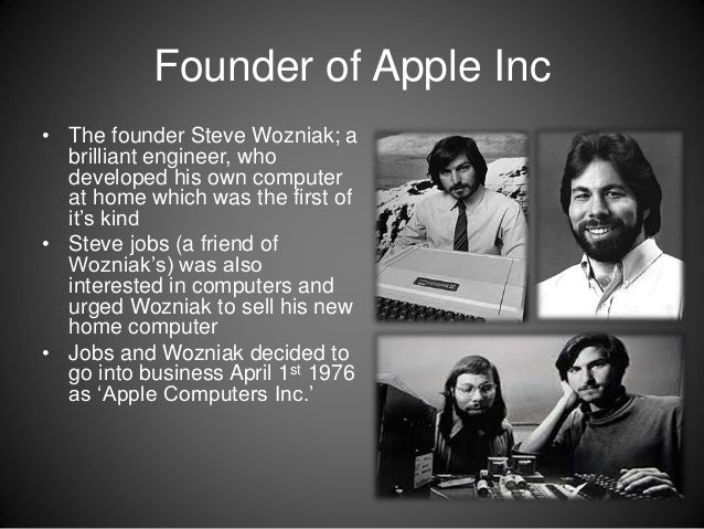 a history of the apple computers company The lisa is not only the most expensive computer in apple's history in  after  steve jobs returned to the company, he cut its price to $1995 to.