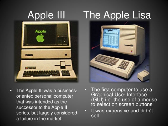 brief history of apple