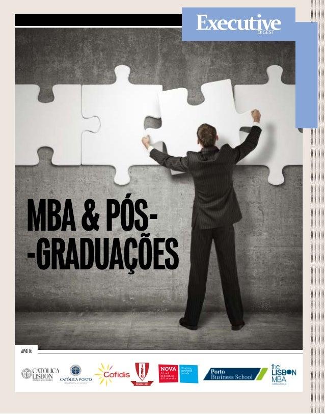 Apoio: mba&pós- -graduações
